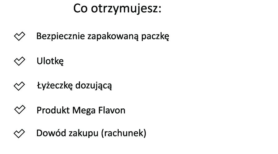 Co otrzymujesz z MEga Flavonem